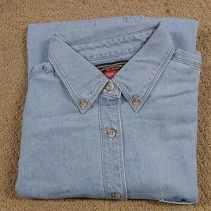 Wranglers Long Sleeve button down shirt